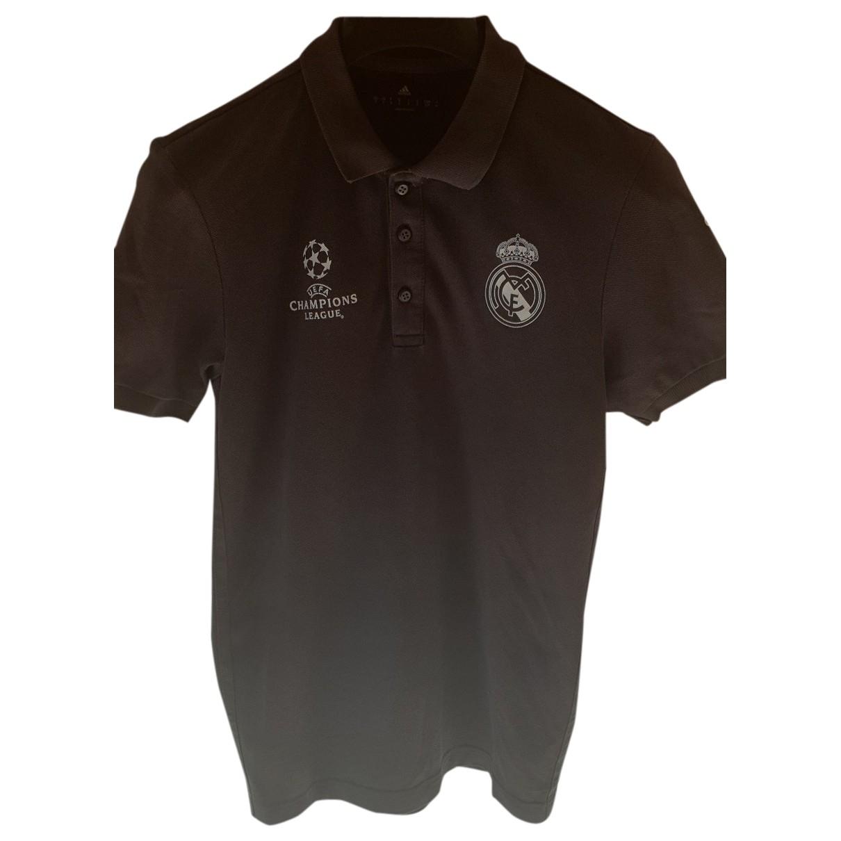 Polo en Algodon Gris Adidas