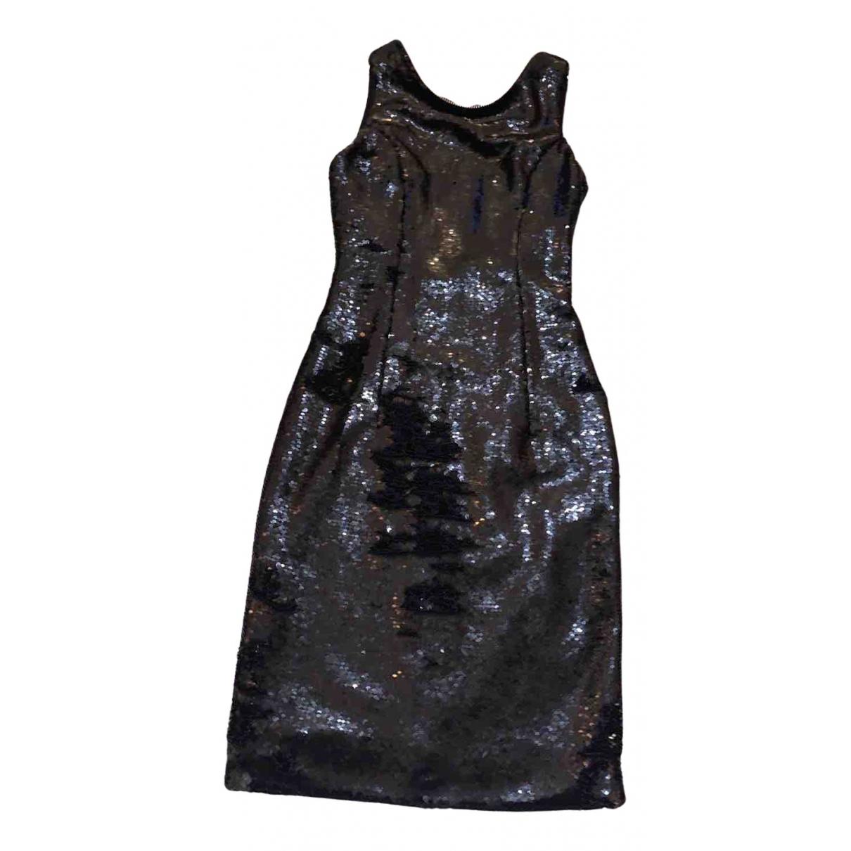 Flavio Castellani N Black Glitter dress for Women 36 FR