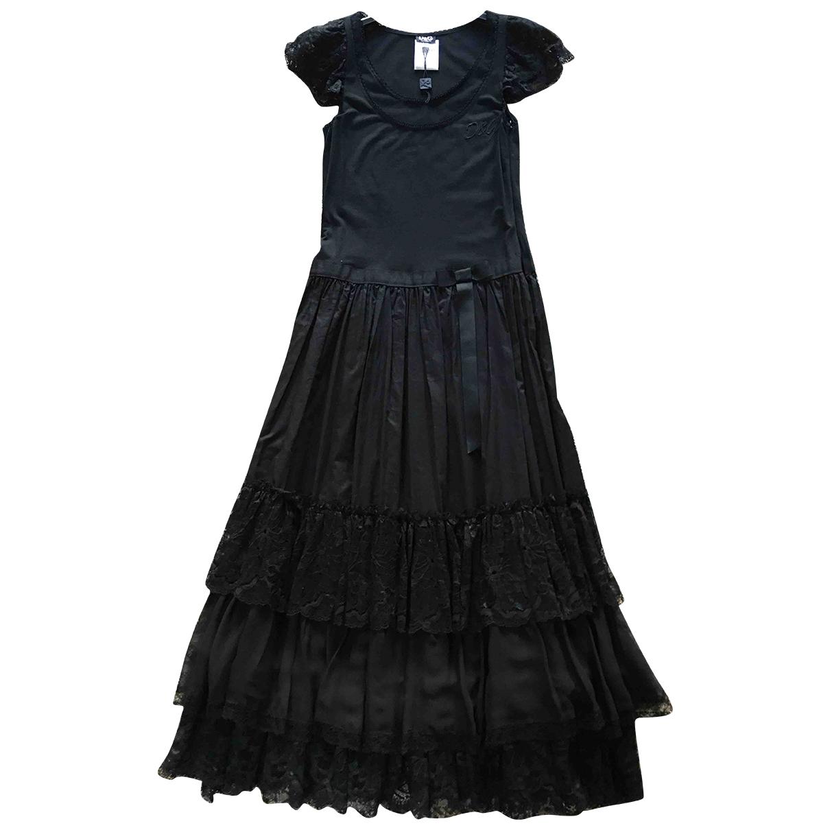 D&g - Robe   pour femme en coton - elasthane - noir
