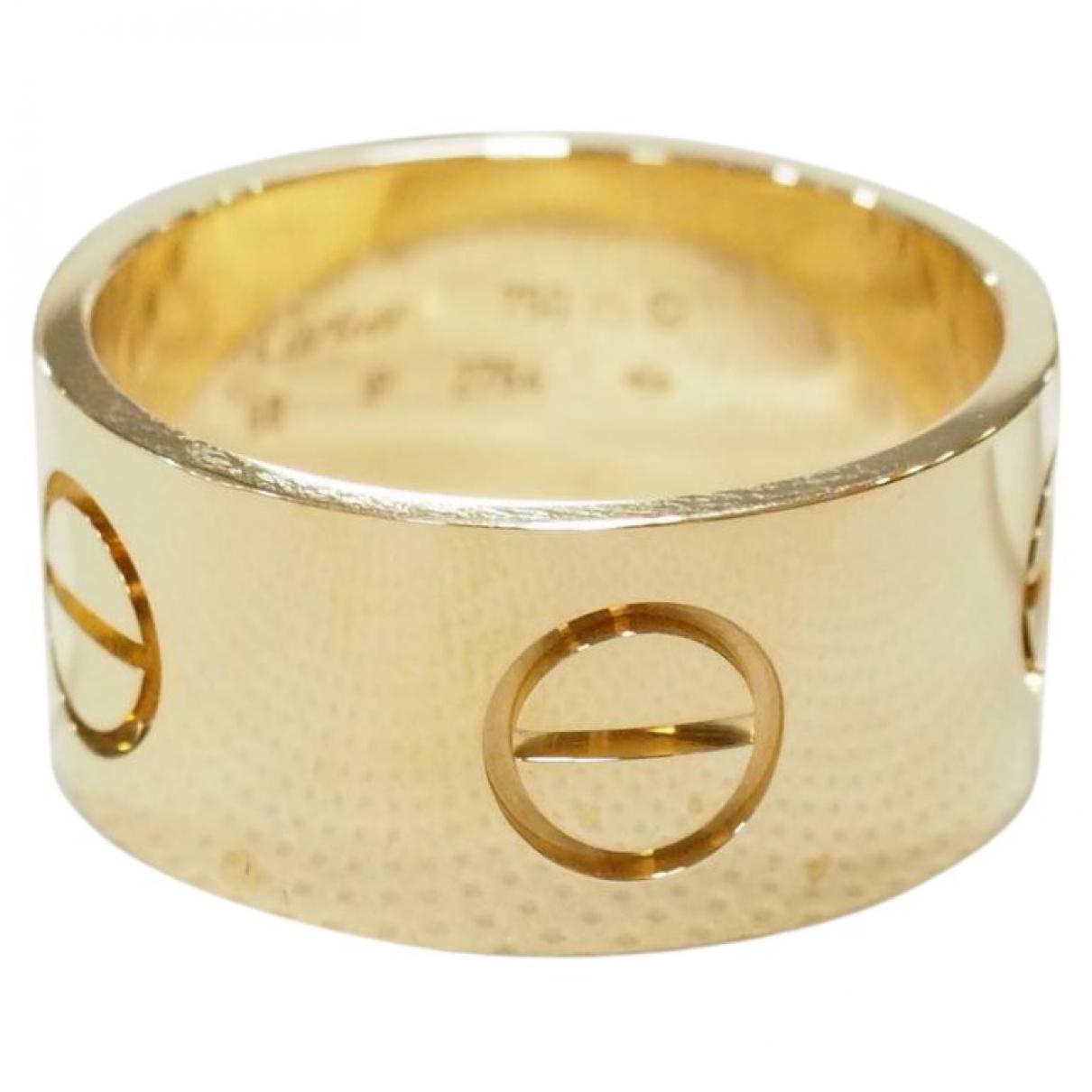 Joya Love de Oro amarillo Cartier