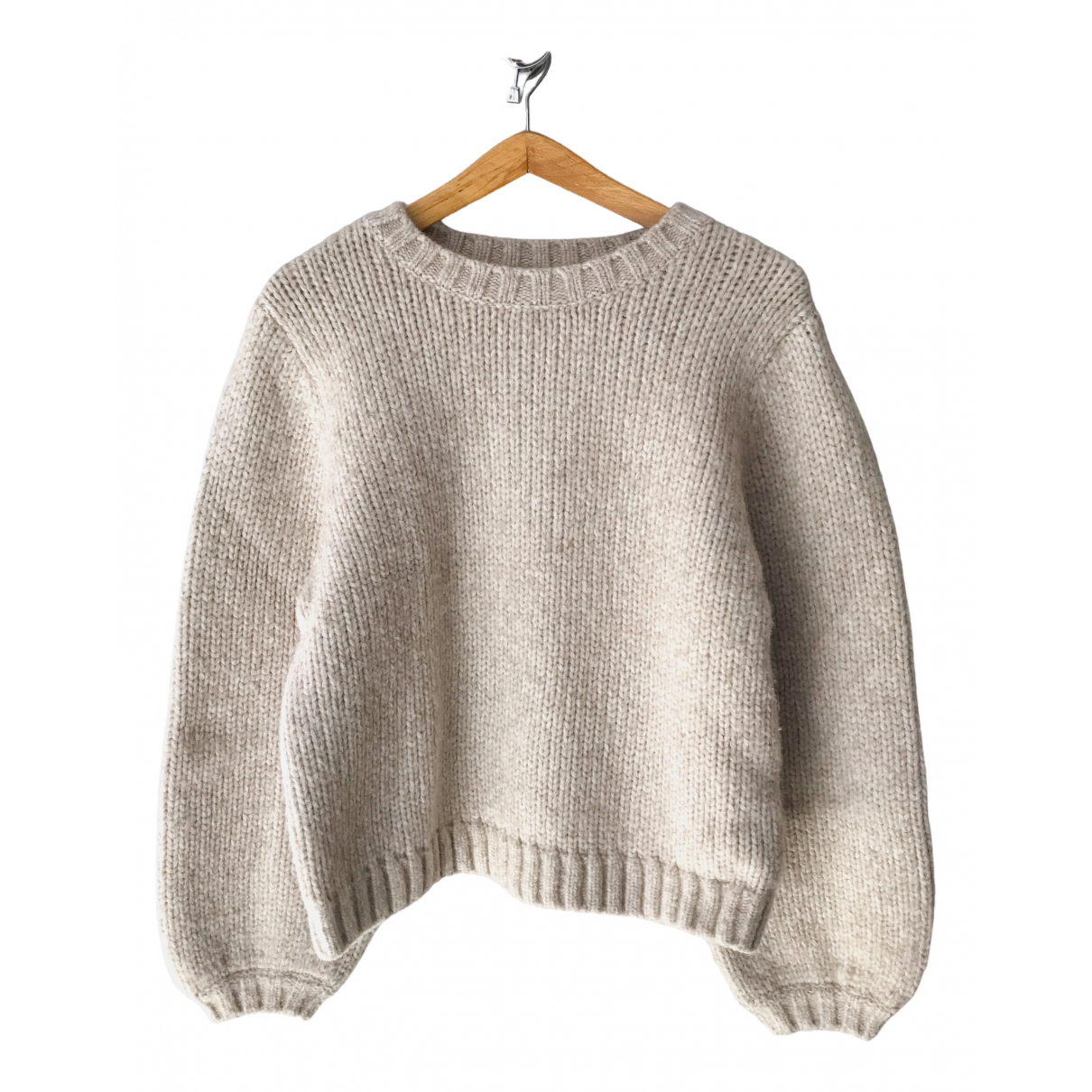 & Other Stories \N Pullover in  Ecru Wolle