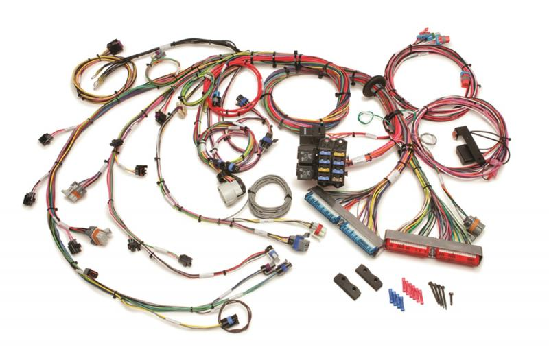 Painless Wiring 60217 1999-2006 GM Gen III 4.8/5.3/6.0L EFI Harness - Mechanical TB