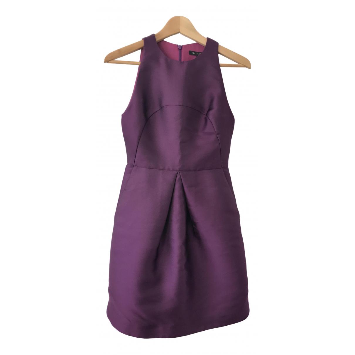 Tara Jarmon \N Kleid in  Lila Polyester