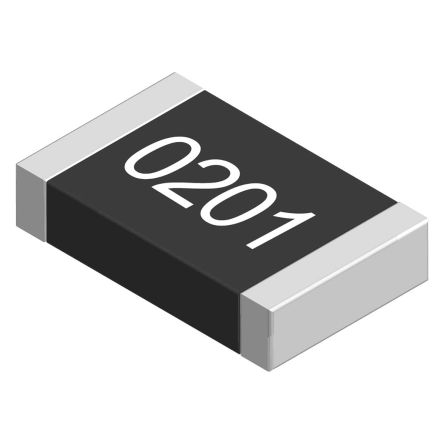 Yageo 100Ω, 0201 (0603M) Thick Film SMD Resistor 1% 0.05W - RC0201FR-07100RL (10000)