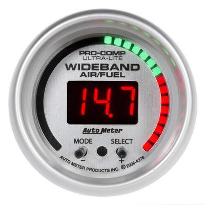 Auto Meter Ultra-Lite Wide Band Air Fuel Ratio Kit, 2-1/16 Inch - AMG4378