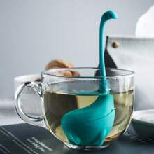 1 Stueck Dinosaurier formiger zufaelliger Teefilter
