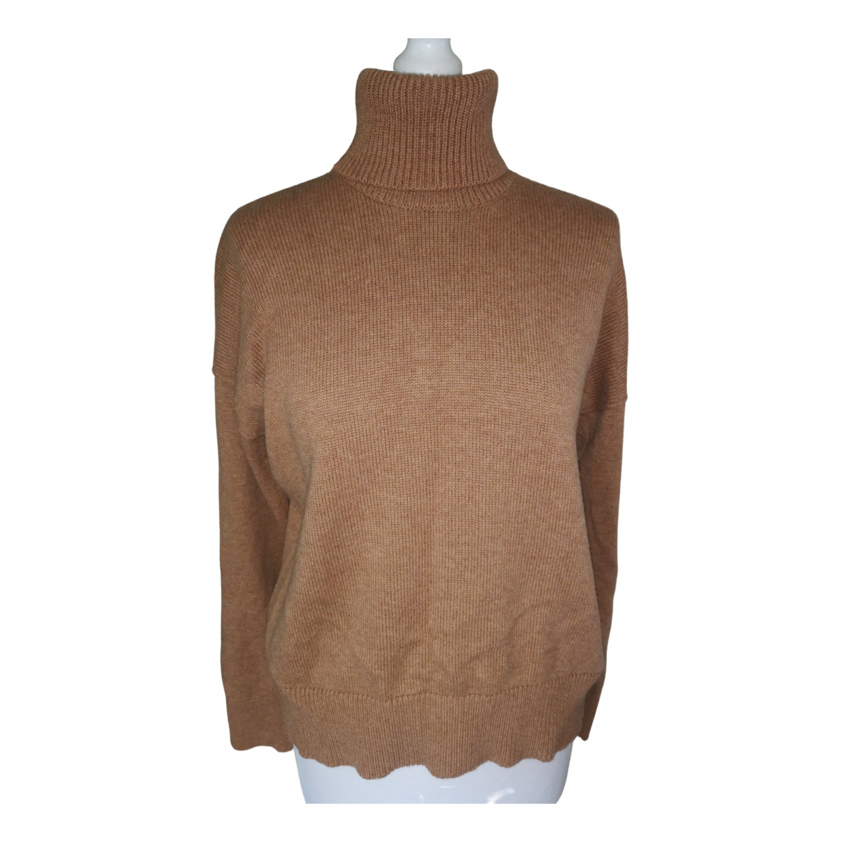Rejina Pyo \N Pullover in  Braun Wolle