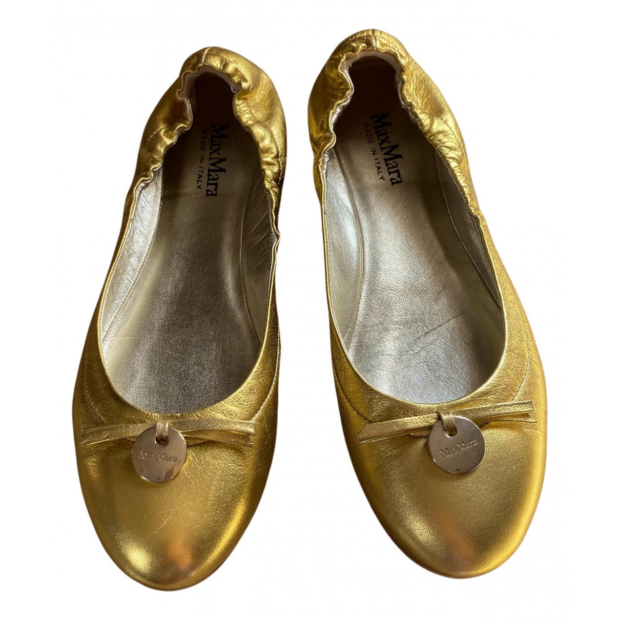 Bailarinas de Cuero Max Mara