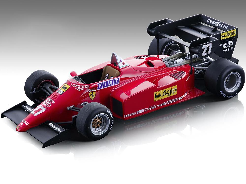 Ferrari 126 C4-M2 27 Michele Alboreto