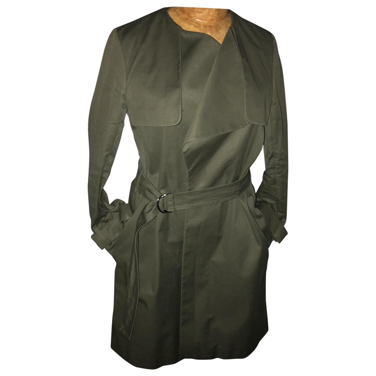 Sandro \N Khaki Cotton Trench coat for Women 42 FR