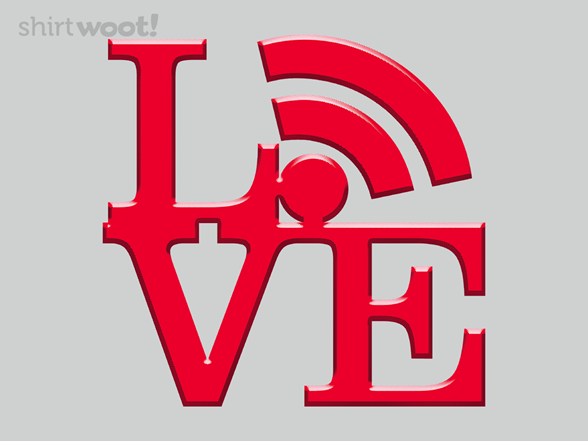 Wifi Love T Shirt