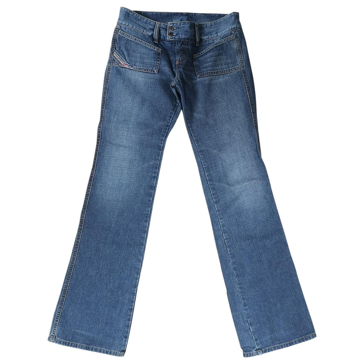 Diesel \N Blue Cotton Jeans for Women 28 US
