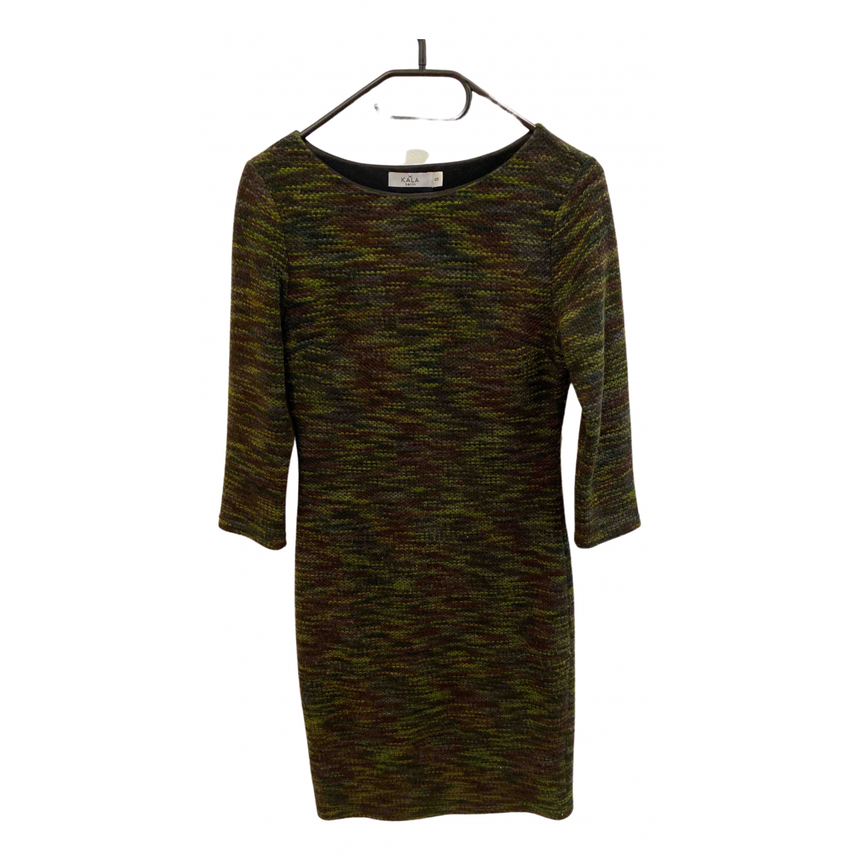 Non Signé / Unsigned \N Green Cotton - elasthane dress for Women S International