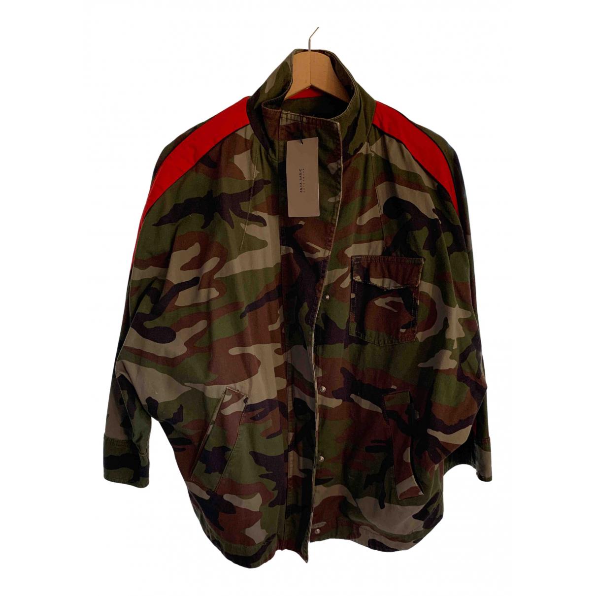 Zara \N Cotton jacket for Women XS International