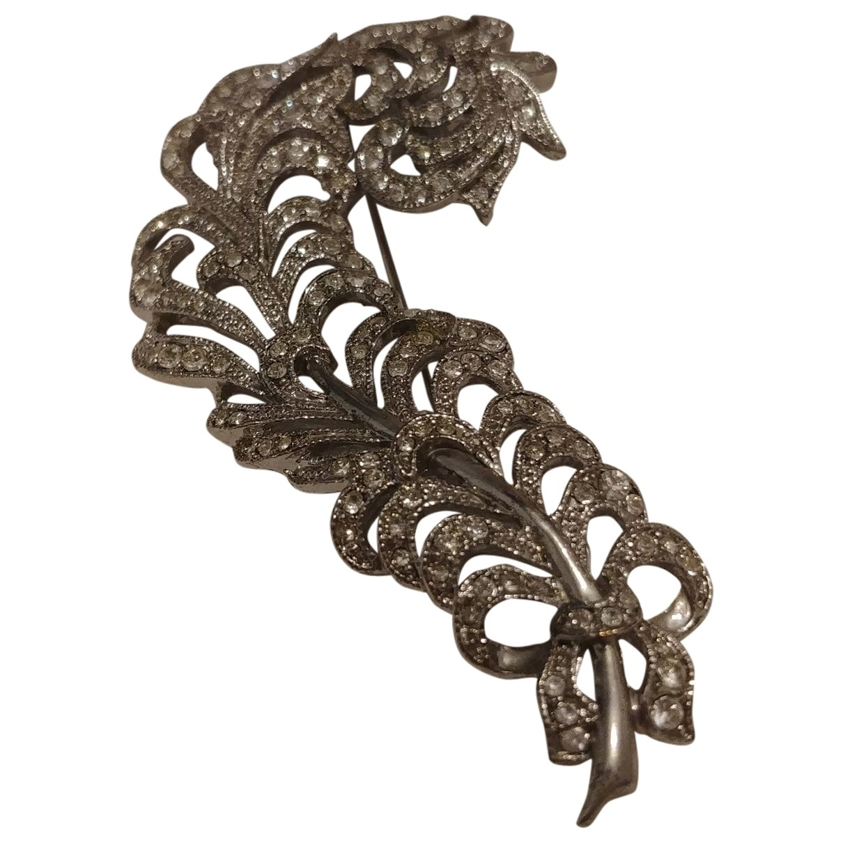 Kenneth Jay Lane \N Silver Metal Pins & brooches for Women \N