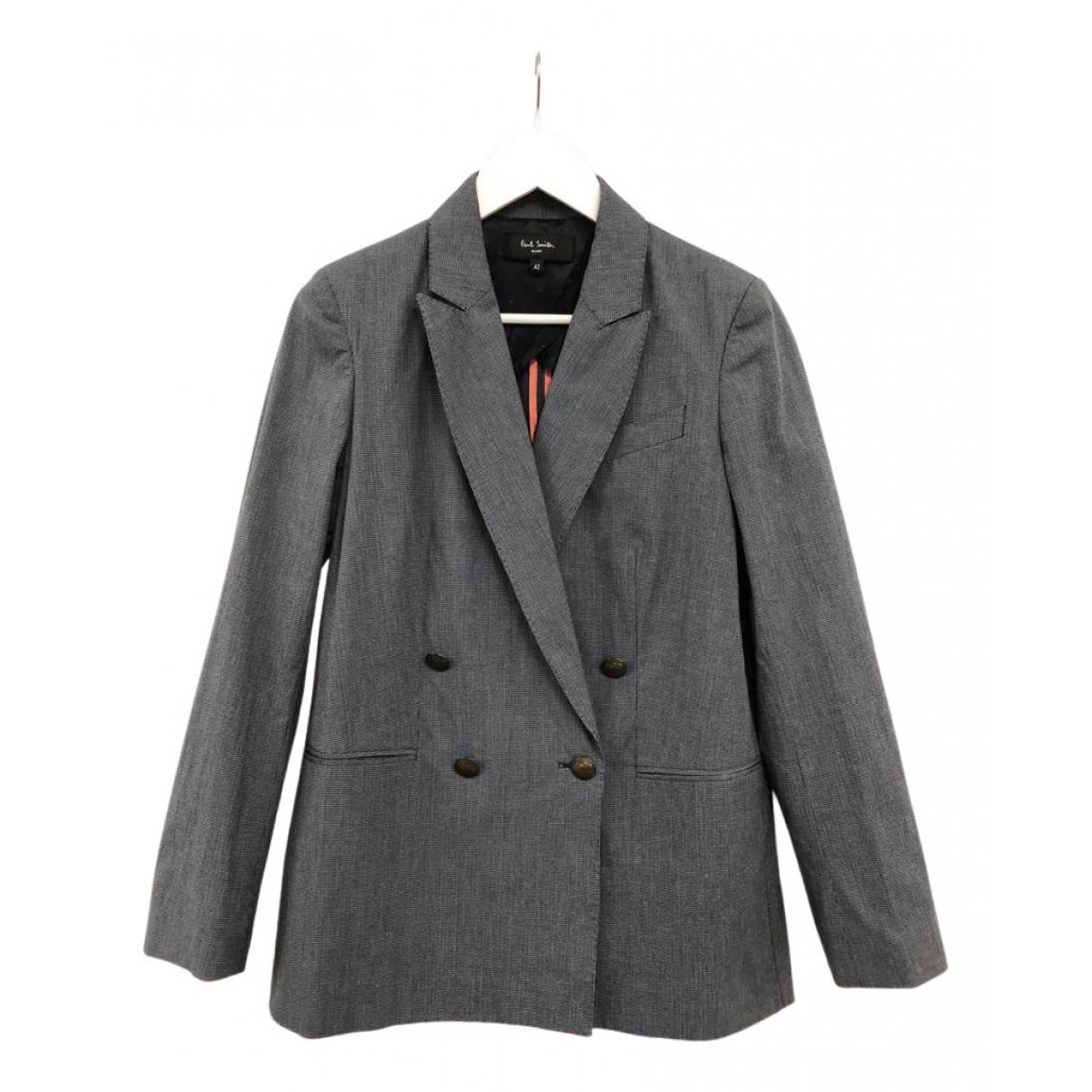 Paul Smith - Veste   pour femme en coton - gris