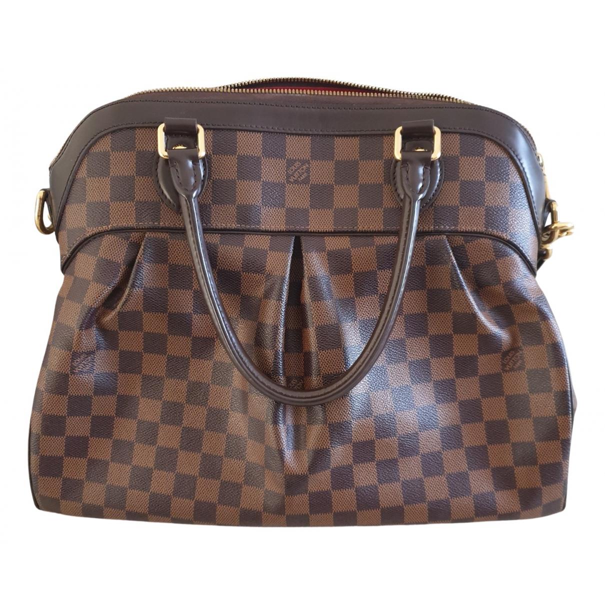 Louis Vuitton - Sac a main Trevi pour femme en toile - marron