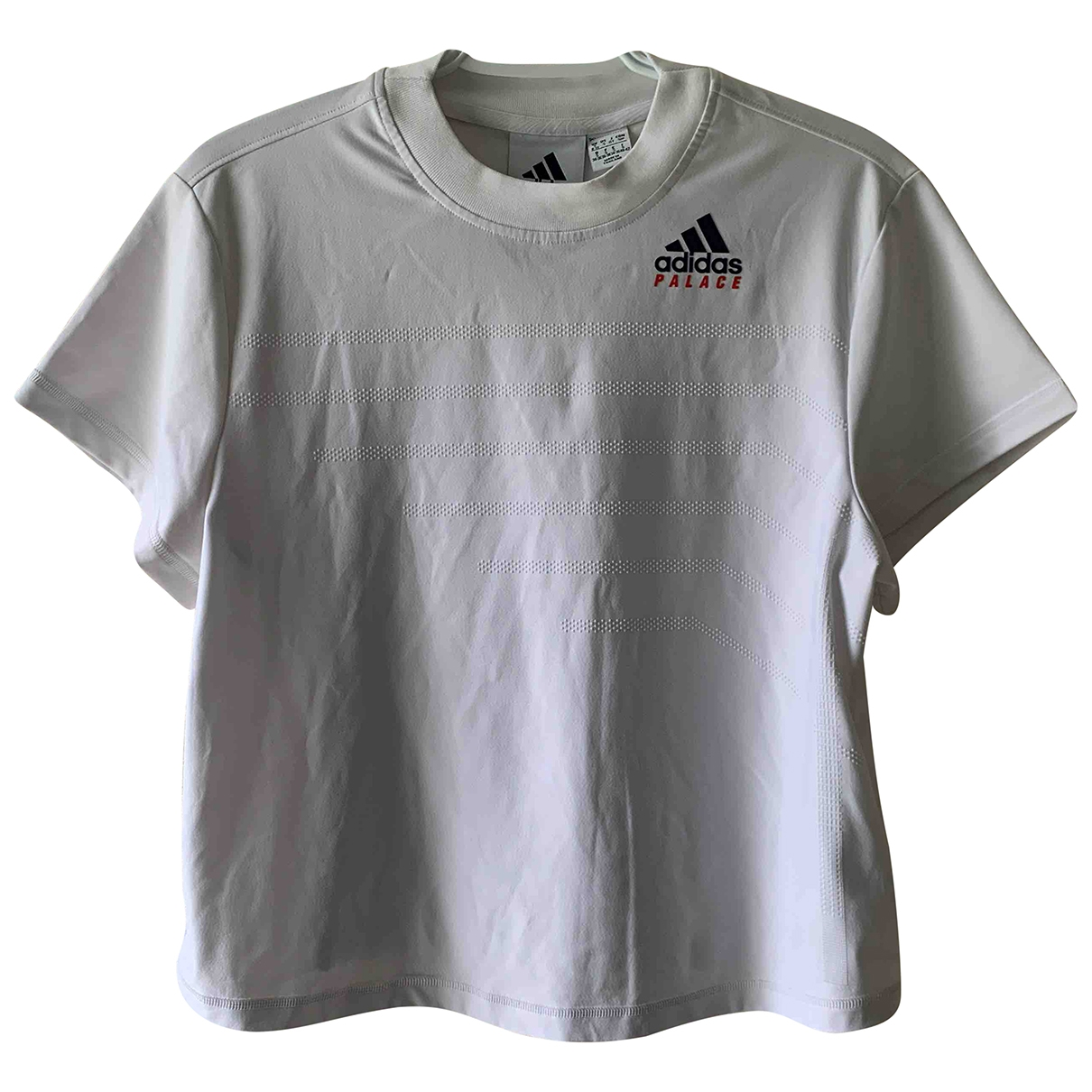 Palace X Adidas \N Top in  Weiss Polyester
