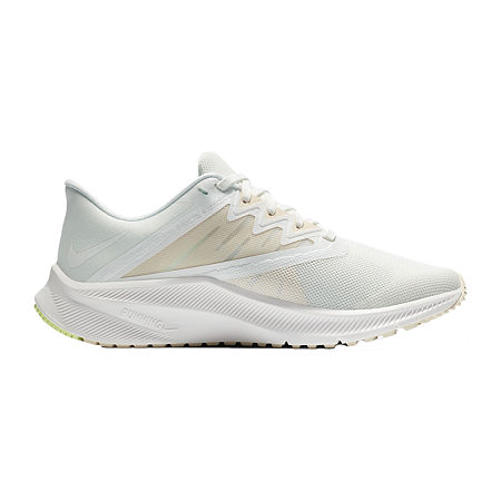 Nike Quest 3 Womens Running Shoes, 8 1/2 Medium, White