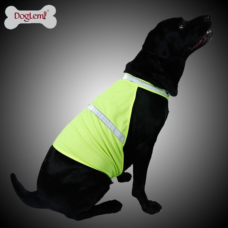 Reflective Clothing Dog Vest Pet Work Dog Vest