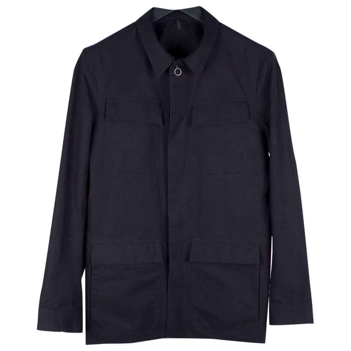 Dior Homme \N Jacke in  Schwarz Baumwolle