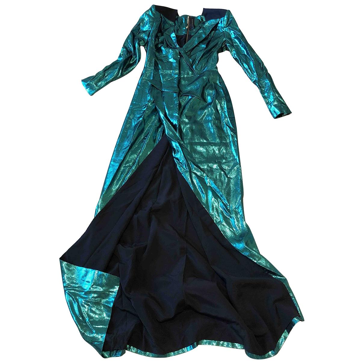 Roland Mouret \N Kleid in  Gruen Synthetik