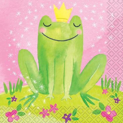 Magical Princess Beverage Napkins, 16ct Pour la fête d'anniversaire