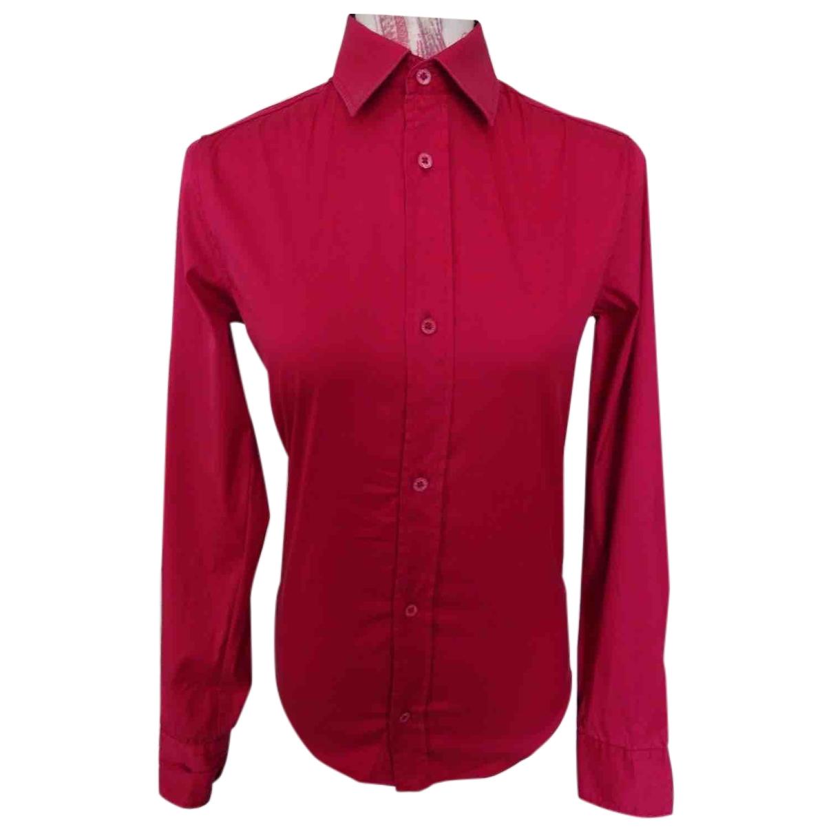 Zadig & Voltaire - Top   pour femme en coton - rouge