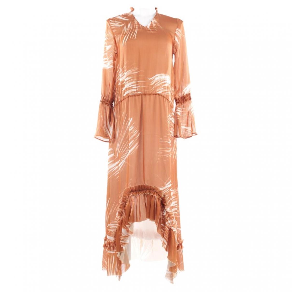 Hironae - Robe   pour femme - beige