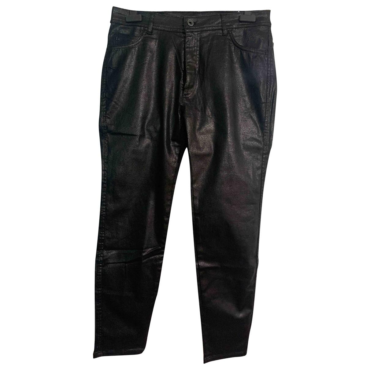 Zara - Pantalon   pour homme en coton - noir