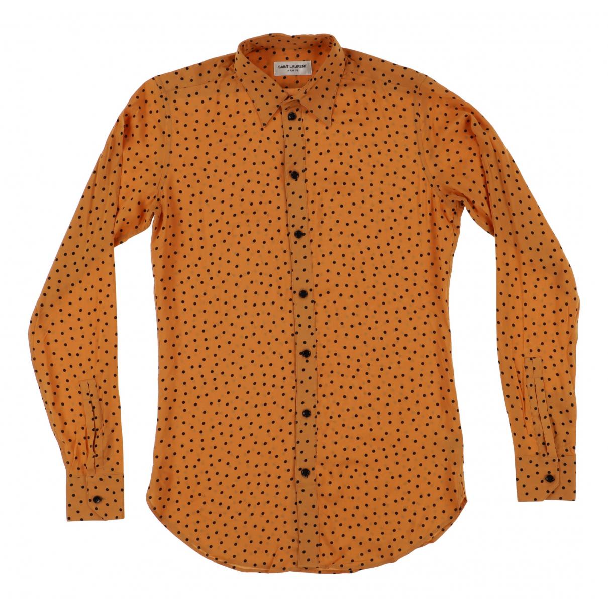 Camisas de Seda Saint Laurent
