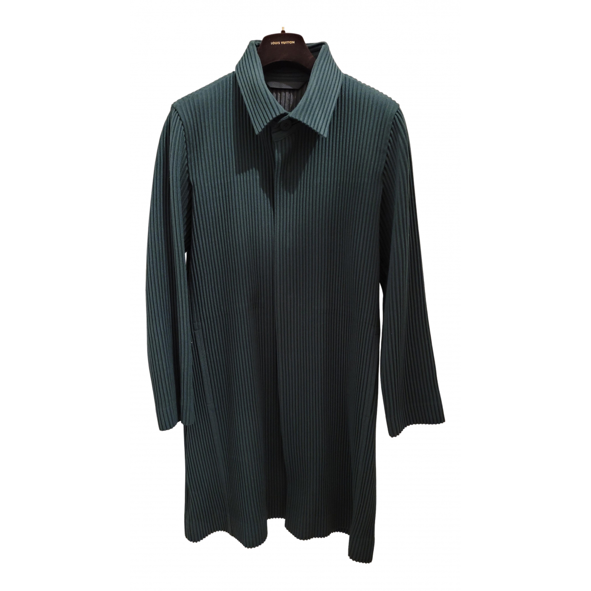 Issey Miyake - Manteau   pour homme - vert