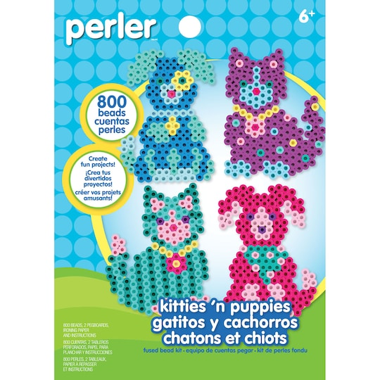 Perler® Kitties 'n Puppies Kit | Michaels®