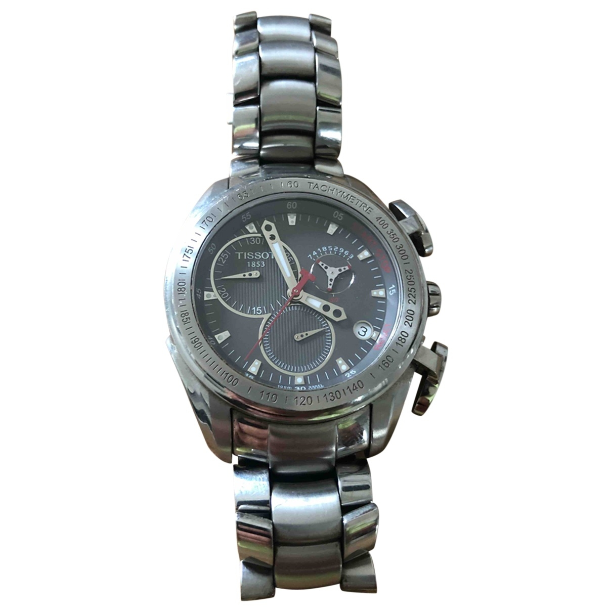 Tissot \N Silver Steel watch for Men \N