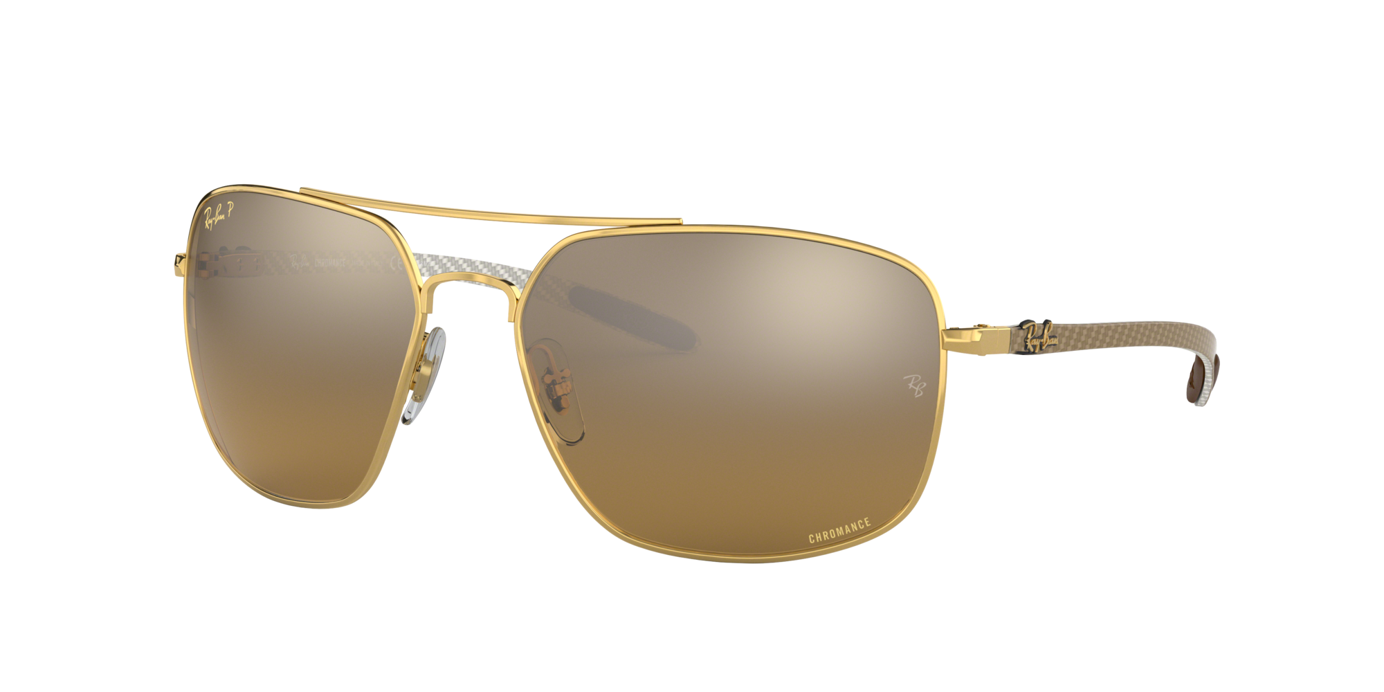 Ray Ban Unisex  RB8322CH -  Frame color: Oro, Lens color: Oro, Size 62-17/135
