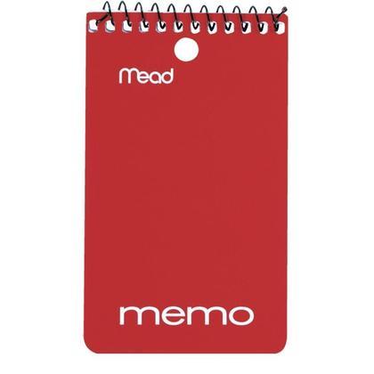 Mead@ reliure spirale carnet de notes - 3 x 5� ouverture au bout, 120 Pages