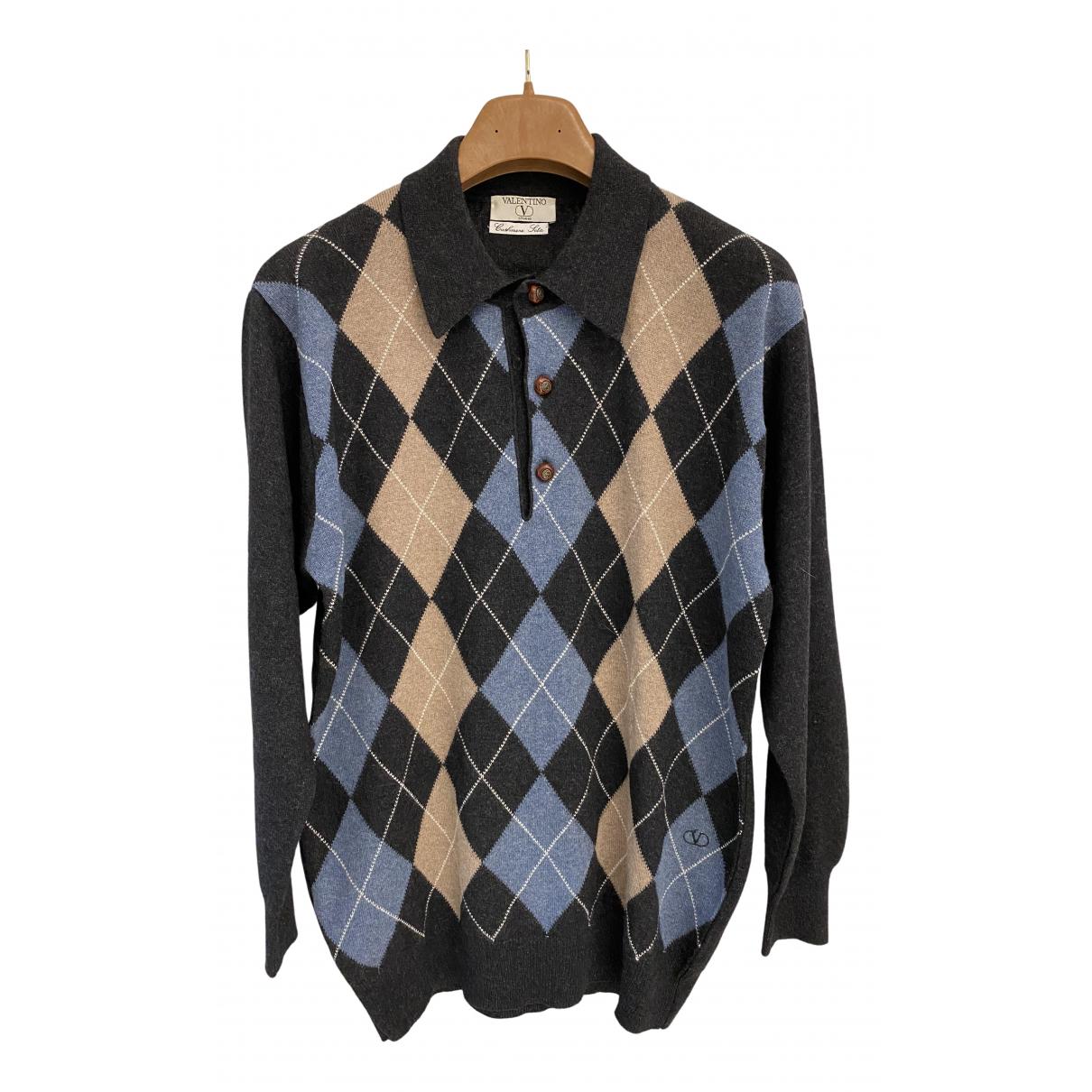 Valentino Garavani N Grey Cashmere Knitwear & Sweatshirts for Men 50 IT