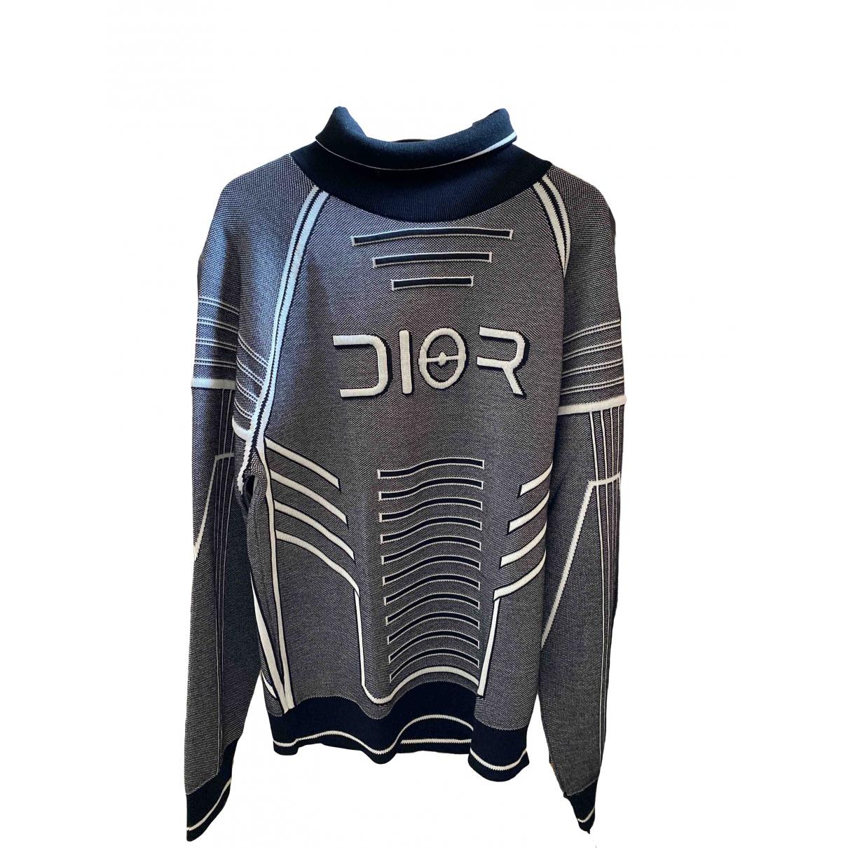 Dior Homme \N Pullover.Westen.Sweatshirts  in  Grau Viskose