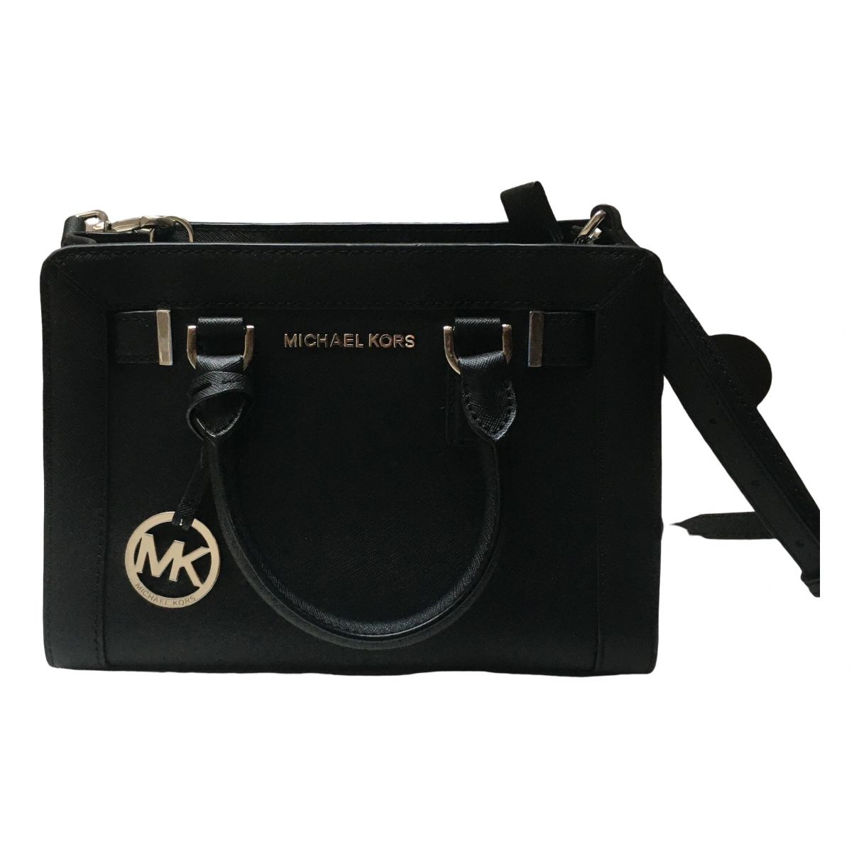 Michael Kors Dillon Black Leather handbag for Women \N