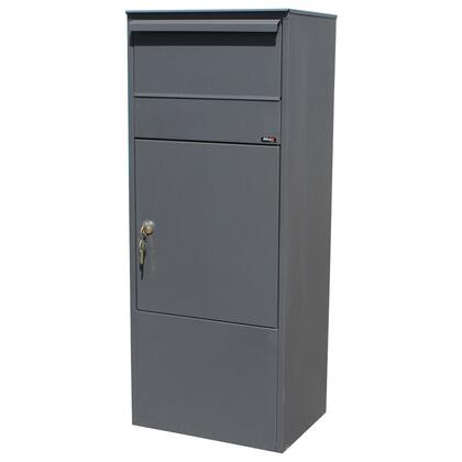 ALX-800-GY Allux Series Mailboxes Allux 800 Mail/Parcel Box in Grey