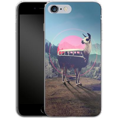 Apple iPhone 6 Plus Silikon Handyhuelle - Llama von Ali Gulec