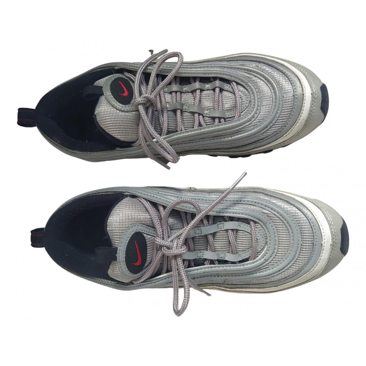 Nike Air Max 97 Sneakers in  Silber Leinen