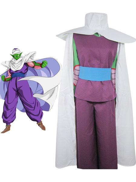 Milanoo Halloween Dragon Ball Piccolo Halloween traje de Coaplay flauta IMP Familiar uniforme tela combinado cuero