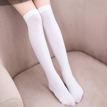 Toddler Girls Solid Over The Knee Socks