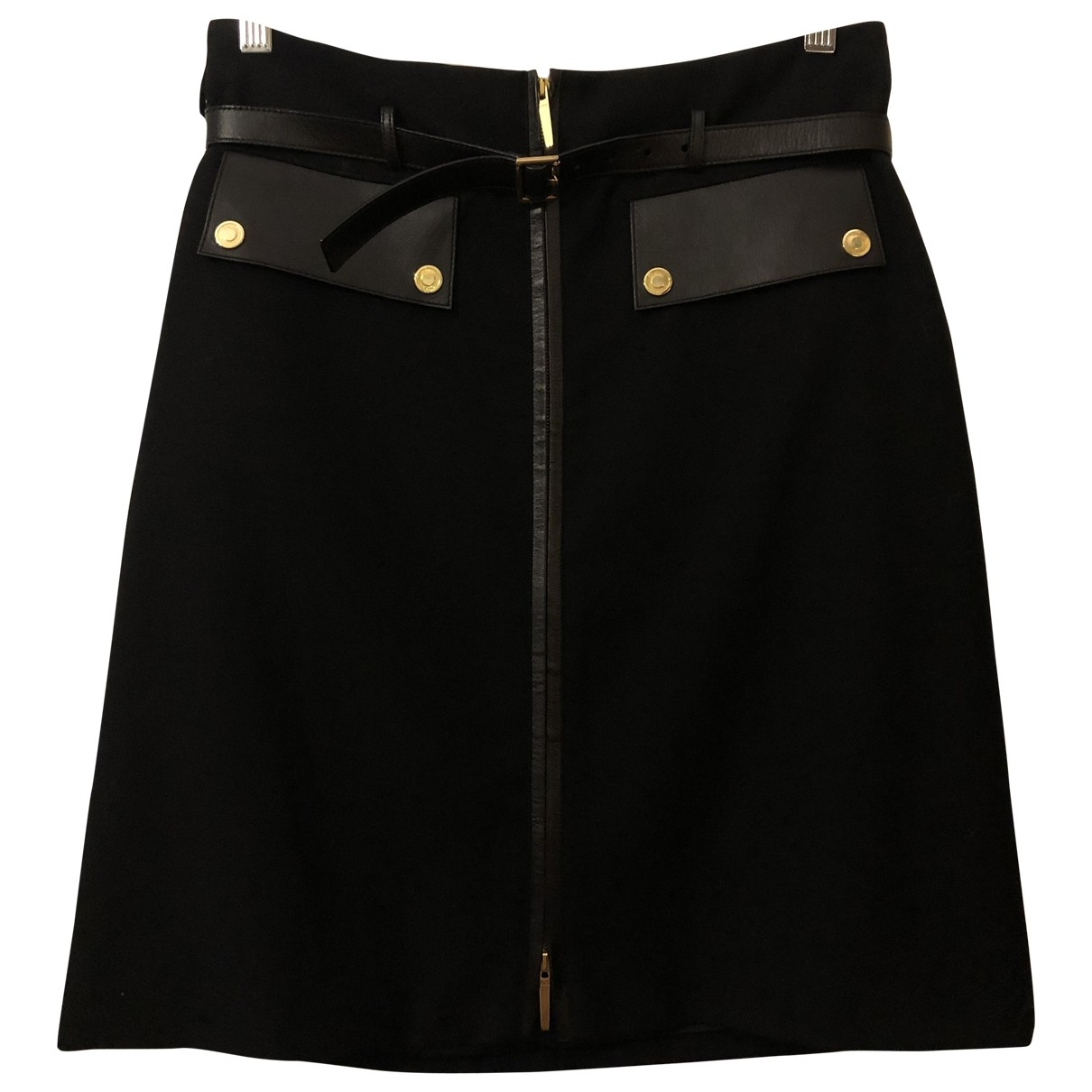 Gucci \N Black Cotton skirt for Women 42 IT