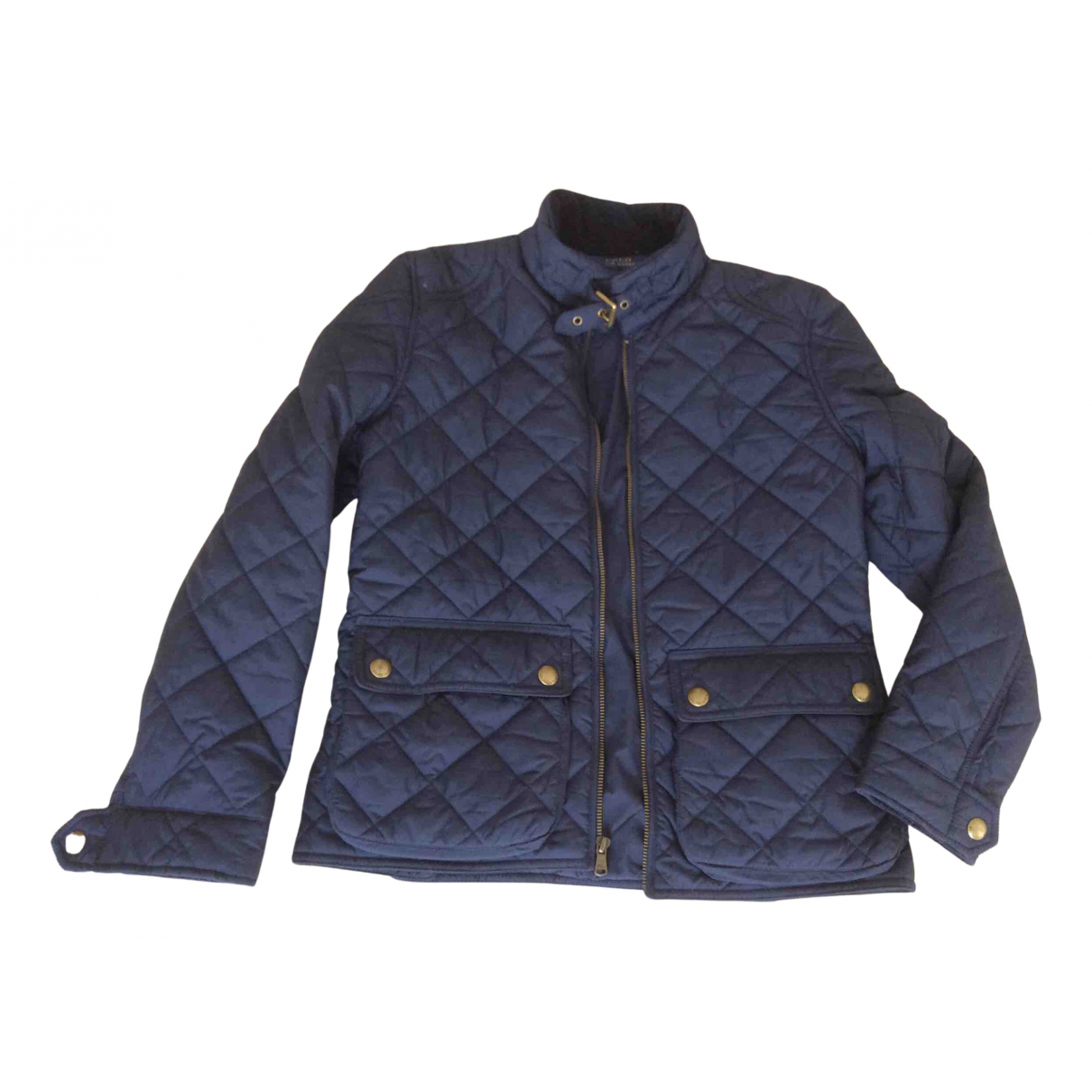 Ralph Lauren Collection \N Jacke, Maentel in  Marine Polyester