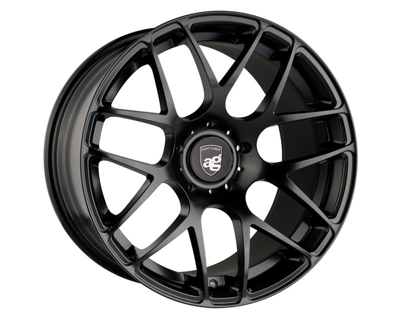 Avant Garde RMSHF-FB530198545 Ruger Mesh Matte Black Wheel 19x8.5 5x130 45mm