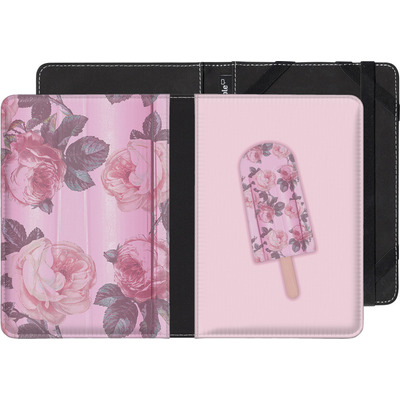Kobo eReader Touch eBook Reader Huelle - Floral Popsicle von Emanuela Carratoni