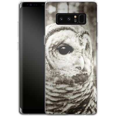 Samsung Galaxy Note 8 Silikon Handyhuelle - Wise von Joy StClaire