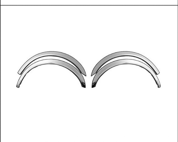 Quality Automotive Accessories 5-Piece Wheel Well Fender Nissan Titan 2011